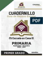 Mi Escuela en Casa III - Guía de Repaso 1er Grado