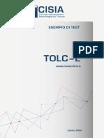 Esempio Di Prova TOLC-E