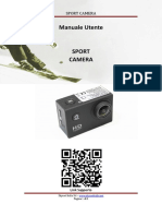 Manuale Sport Camera ITA