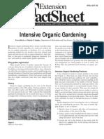 Intensive Organic Gardening