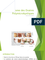 VERT Syndrome Des Ovaires Polymicrokystiques