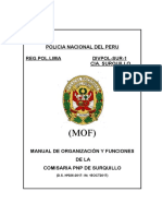 MOF COMISARIA PNP DE SURQUILLO