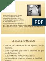 EL SECRETO PROFESIONAL MÉDICO nuevo