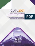 d Gía 2021 para la Entrega-Recepción de las Haciendas Públicas Municipales