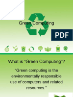green comp ppt