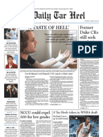 The Daily Tar Heel for April 12, 2011
