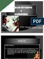 TRABAJO DE PARTO Y PUERPERIO