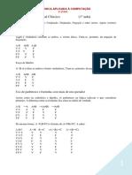 LÓGICA APLICADA A INFORMÁTICA - 3ª ETAPA PARTE 1
