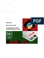 Manual BlackJack