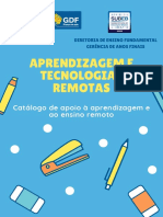 Material Rede DF Para Professores Aprendizagem e Tecnologias Remotas 2020