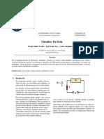 Informe circuitos en serie electricidad y magnetismo