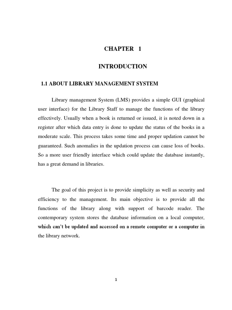 synopsis of library management system The project online library management system is developed in aspnet, which mainly focuses on basic operations in a library.