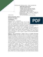 Resolucion Nro. 05 - Declarar Validez de Acusacion y Improcedencia de Observaciones