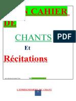 Cahier de Chants et Récitations-1