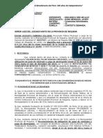 RECONOCIMIENTO DE PAGO Y DEVENGADOS CONTESTACION DEMANDA MILAGROS DEL PILAR. CONTENCIOSO ADMINISTRATIVO