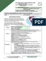GUIA DIDÁCTICA   N° 12 geografia fisica de America, Oceania y Antartida y Organizacion de la Consttitucion de 1991. (1) (1)