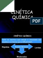 QUIMICA 2º ANO  - CINÉTICA QUÍMICA