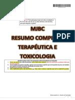 Georgia R. Montiel RC TERAPÉUTICA E TOXICOLOGIA MJBC