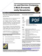 2d MLG (Fwd.) Headquarters April Newsletter