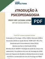 INTRODUCAO A PSICOPEDAGOGIA 1