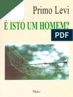 E Isto Um Homem_ - Primo Levi