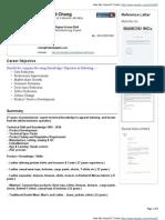 Raymond Chong VisualCV Resume ( 2011-01-28 )