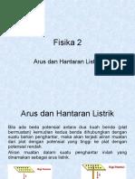 c.fisika2 Arus & Hantaran Listrik