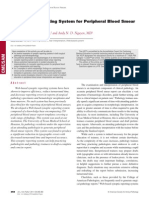 A Synoptic Reporting System for Peripheral Blood Smear Interpretation