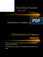 CLASSIFICATION OF COMPUTER NETWORKS-2011