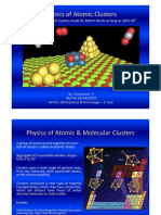 Physics of Atomic Clusters by Arun