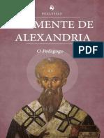 O Pedagogo (Translated) by Clemente de Alexandria [de Alexandria, Clemente] (Z-lib.org).Epub