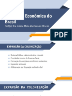 Formação Econômica do Brasil - UN2 - Vídeo 03