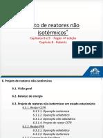6. Projeto de Reatores Não Isotermicos