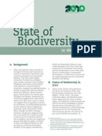 Biodiversity fact sheet WEST ASIA