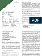 Pew Sheet 10 April 2011