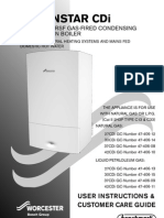 User Manual for Greenstar Cdi