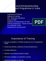 13735241-Entrepreneurial-Development-in-India-and-EDP