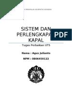 UTS Sistem Perlengkapan kapal