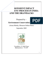 ENVIRONMENT IMPACT ASSESSMENT PROCESS IN INDIA AND THE DRAWBACKS-1
