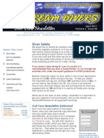 Dream Divers April 2011 Dive Club Newsletter