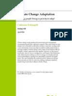 Climage Change Adaptation