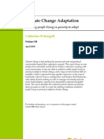 Climage Change Adaptation