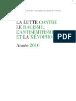 20e rapport annuel sur le racisme,
