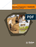 Community Based Disaster Risk Reduction Programme in Cambodia