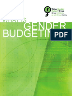 What is Gender Budgeting?