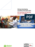 Giving Developing Countries the Best Shot