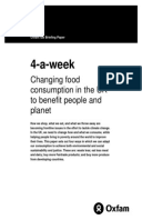 4-a-week: Changing food consumption in the UK to benefit people and planet