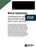 Blind Optimism