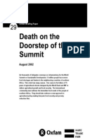 Death on the Doorstep of the Summit