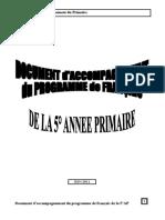 DOC-ACCOMP Français 5°AP